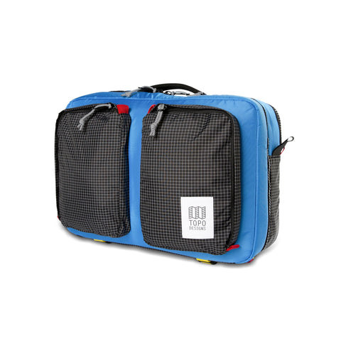 Topo Designs -  Blue Black Ripstop Unisex Global 3 Day Briefcase