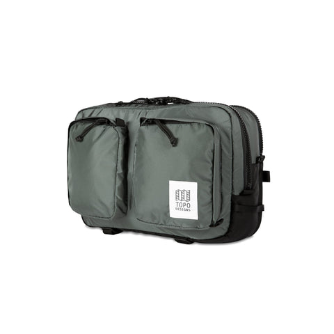 Topo Designs -  Charcoal Unisex Global Briefcase