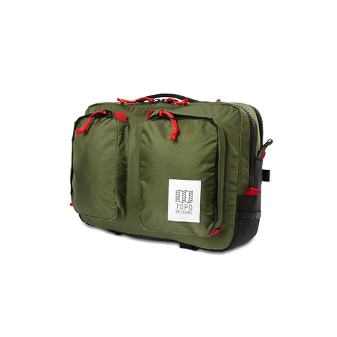 Topo Designs -  Olive Unisex Global Briefcase