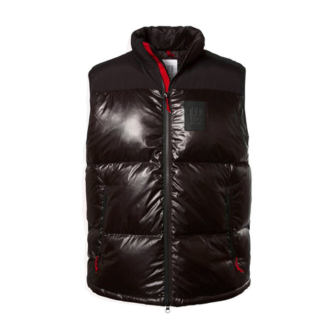 Topo Designs - Men's Big Puffer Black Vest