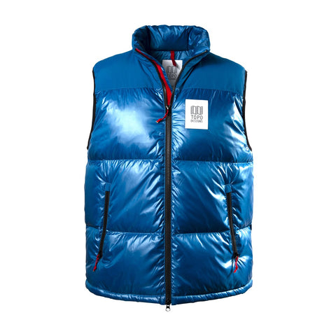 Topo Designs - Men's Big Puffer Blue Vest