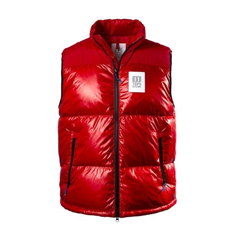 Topo Designs - Men's Big Puffer Red Vest