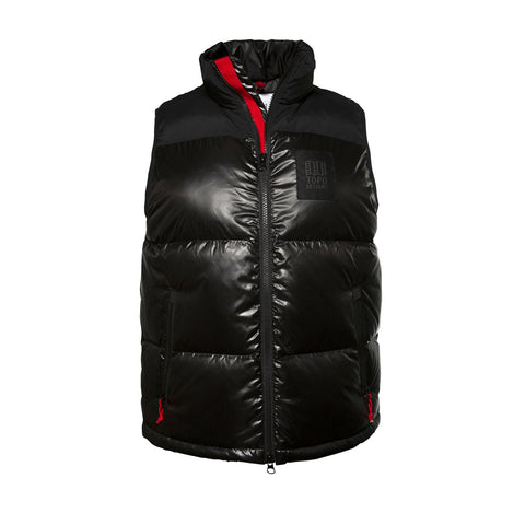 Topo Designs - Women's Big Puffer Black Vest