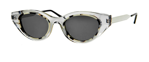 Thierry Lasry - Fantasy White tortoise Sunglasses / Translucent Grey Lenses