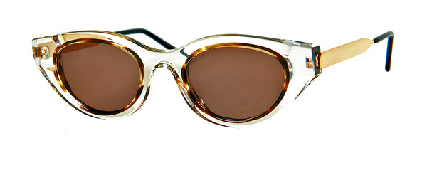 Thierry Lasry - Fantasy Yellow Tortoise Sunglasses / Champagne Lenses