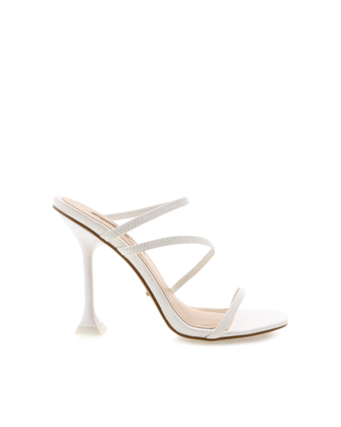 BiLLiNi - Women's Faryn White Block Heels