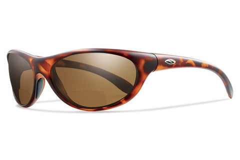 Smith - Fly By Tortoise Sunglasses, +2.50 Polarized Brown Lenses