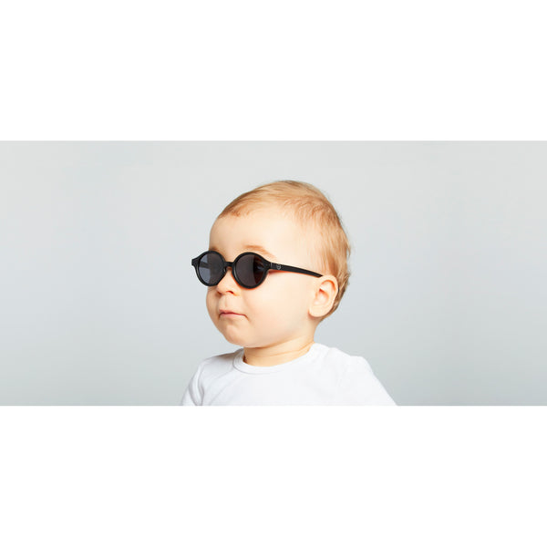 Izipizi - #Sun Baby Black  Sunglasses / Grey Polarized Lenses