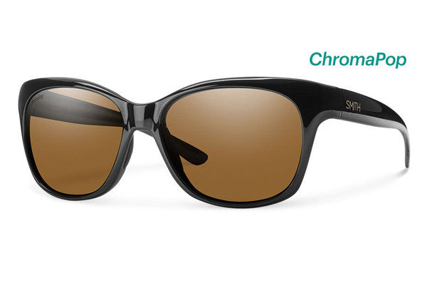 Smith - Feature Black Sunglasses, Brown ChromaPop Polarized Lenses