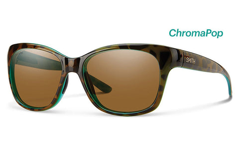 Smith - Feature Tort Marine Sunglasses, ChromaPop Polarized Brown Lenses