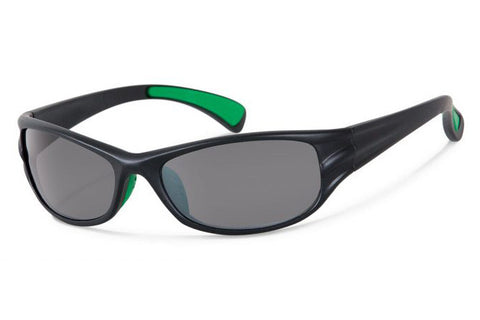 Forecast - Tumble Black Sunglasses, Gray Lenses