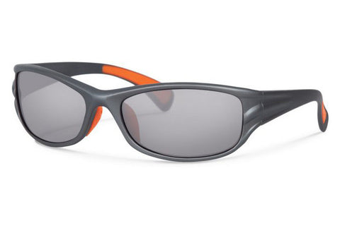 Forecast - Tumble Silver Fade Sunglasses, Gray Mirror Lenses