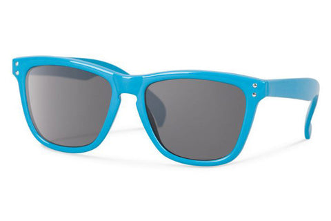 Forecast Junior Wander Turquoise Sunglasses, Gray Lenses