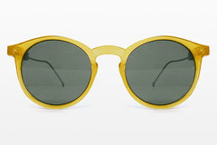 Spitfire - Flex Yellow & Gold Sunglasses, Black Lenses