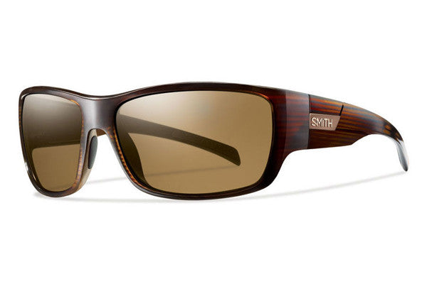 Smith - Frontman Brown Stripe Sunglasses, Polarized Brown Lenses