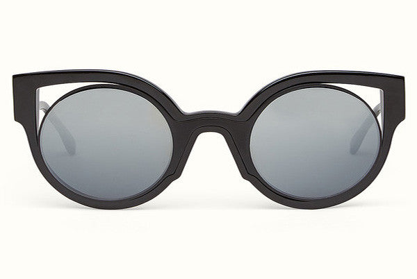 b13f61ff65bc Fendi - Paradeyes 0137 S Glossy Black Sunglasses – New York Glass