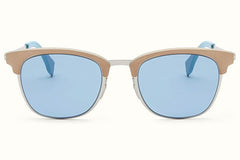 Fendi - QBIC 0228/S Beige And Blue Sunglasses