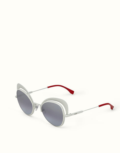 Fendi -  Eyeshine 0247/S White Sunglasses