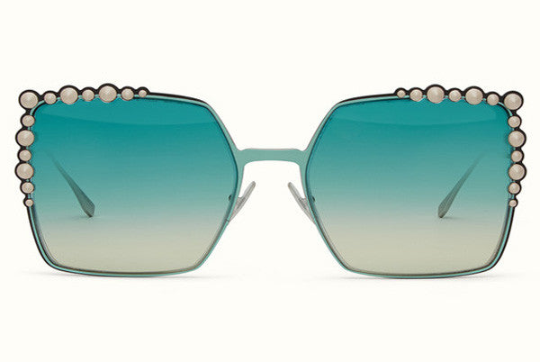 Fendi - Can Eye SS17 Runway Two-Toned Sunglasses