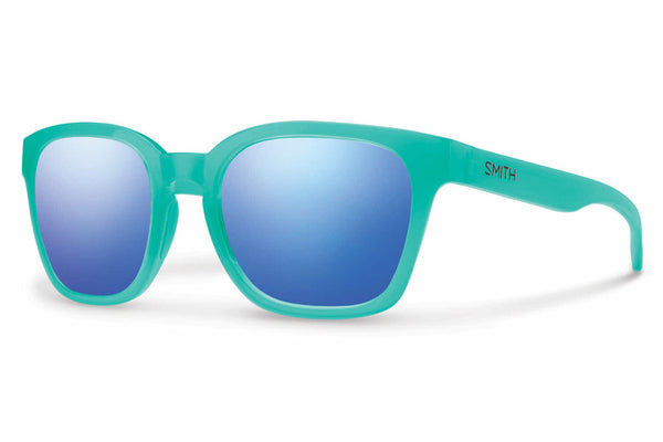 Smith Founder Opal Sunglasses, Blue Flash Mirror Lenses
