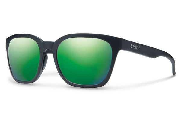 Smith - Founder Matte Black Sunglasses, Green Sol-X Mirror Lenses