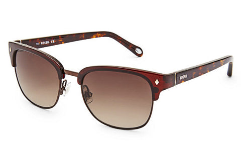 Fossil - Jamison Square Brown Sunglasses