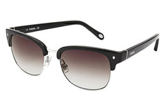 Fossil - Jamison Polarized Square Black Sunglasses