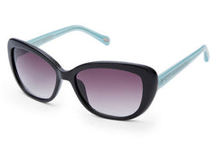 Fossil - Vanhorn Butterfly Black Sunglasses