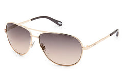 Fossil - Alex Aviator Rose Gold Sunglasses
