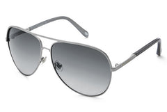 Fossil - Turnbridge Aviator Silver Sunglasses