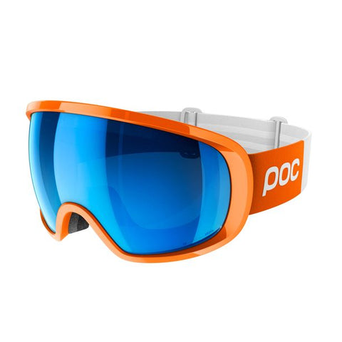 POC - Fovea Clarity Comp Zink Orange Snow Goggles / Spektris Blue Lenses