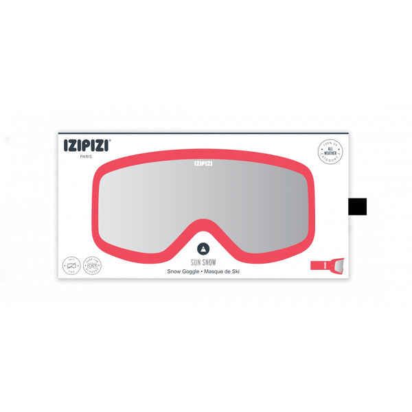 Izipizi - #Sun Snow Large Pink Snow Goggles / Category 2 Lenses