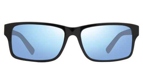 Revo - Finley 57mm Black Sunglasses / Blue Water Lenses
