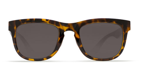 Costa - Copra  Retro Tortoise + Black Temples Sunglasses / Gray Polarized Plastic Lenses