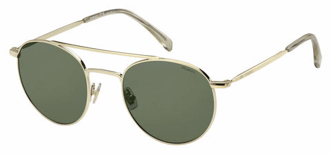 Fossil - Fos 3069 S Light Gold Sunglasses / Green Polarized Lenses