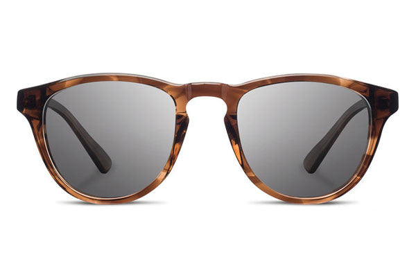Shwood - Francis Acetate Bourbon / Grey Polarized Sunglasses