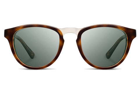 Shwood - Francis Acetate Brindle  / G15 Polarized Sunglasses