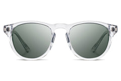 Shwood - Francis Acetate Crystal  / G15 Polarized Sunglasses