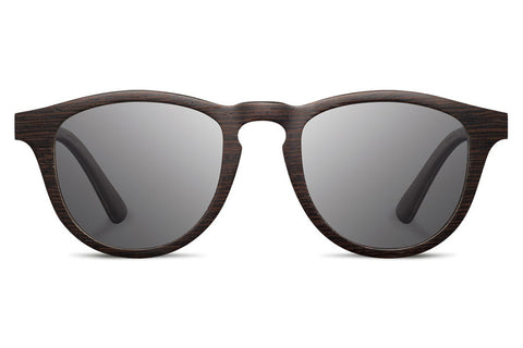 Shwood - Francis Dark Walnut / Grey Sunglasses