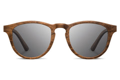Shwood - Francis Walnut / Grey Sunglasses