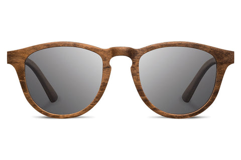 Shwood - Francis Walnut / Grey Polarized Sunglasses