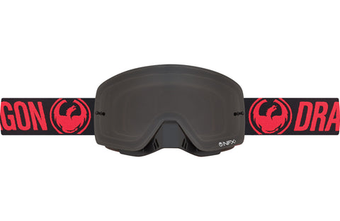 Dragon - NFXS Red MX Goggles / Smoke Lenses