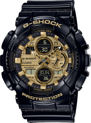 G-Shock - GA140GB-1A1 Matte Black Gold Watch