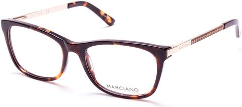 Marciano - GM0324 Havana Eyeglasses / Demo Lenses