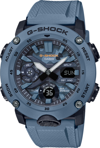 G-Shock - GA2000SU-1A Camouflage Blue Watch