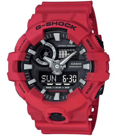 G-Shock - GA-700-4ACR Red Watch