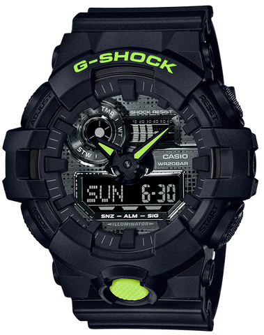 G-Shock - GA700DC-1A Yellow Black Watch