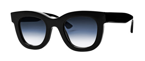 Thierry Lasry - Gambly Black Sunglasses / Blue Gradient Lenses