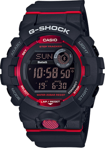 G-Shock - GBD800-1 Black Red Watch