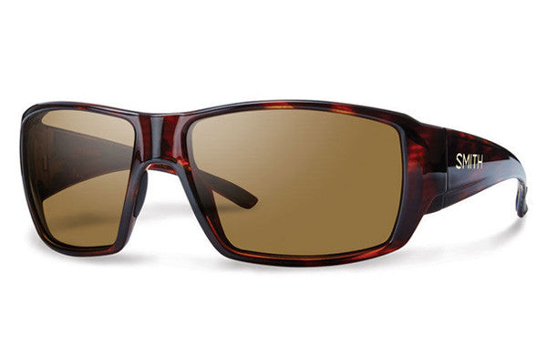 Smith - Guide's Choice Havana Sunglasses, Techlite Polarized Brown Lenses